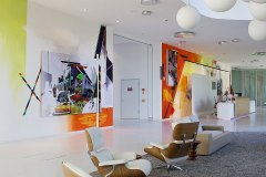 Wandgestaltung / Foyer