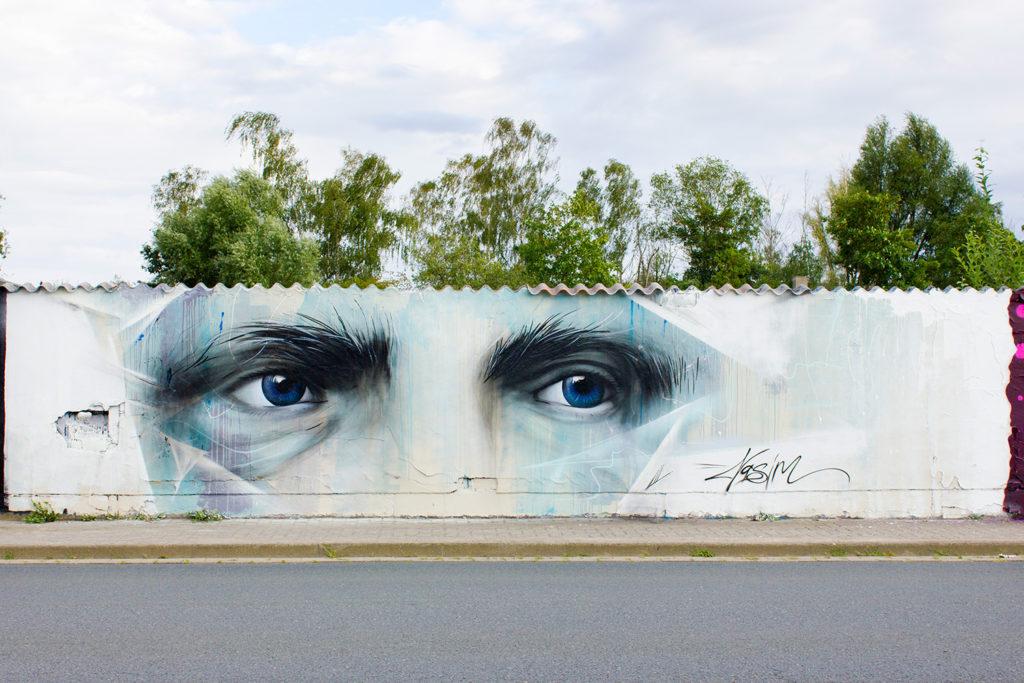 Nasim Naji, Mural, Wandmalerei, Streetart, Braunschweig, 2020